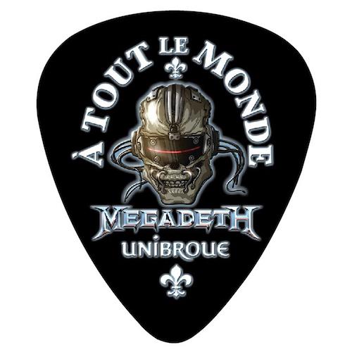 Megadeth A Tout Le Monde Guitar Pick