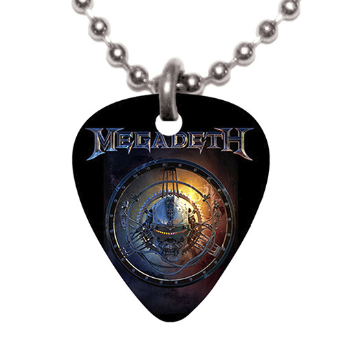 ball necklace gc black chain graphite clayton steel guitar pick
