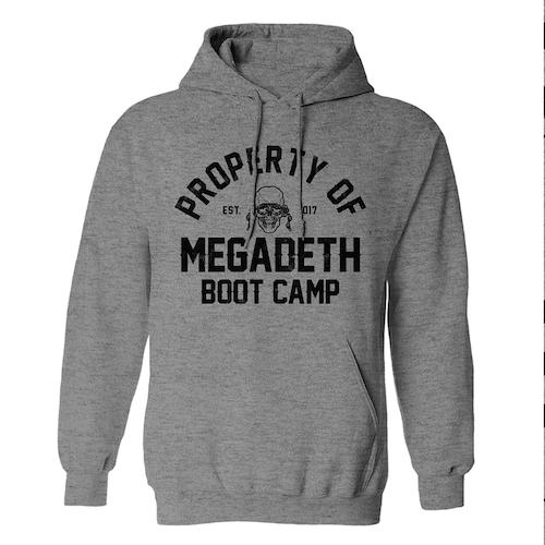 Megadeth Boot Camp Hoodie