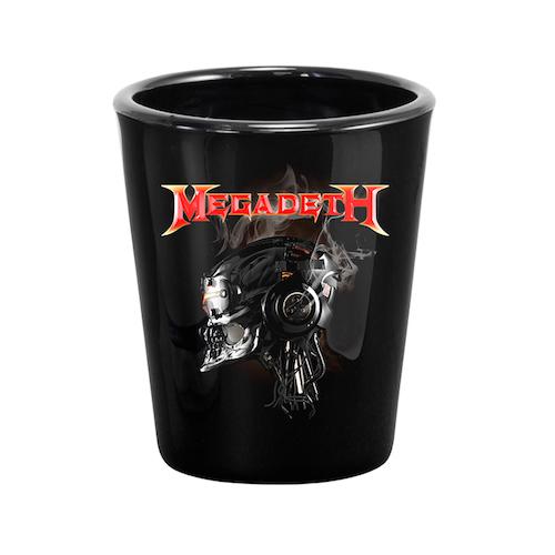 Megadeth Vic Shot Glass