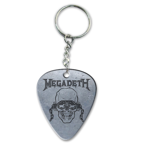 Megadeth Vic Pick Keychain