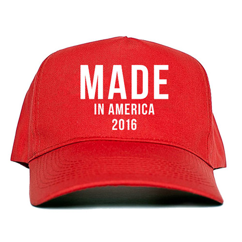 Made in America 2016 Red Hat