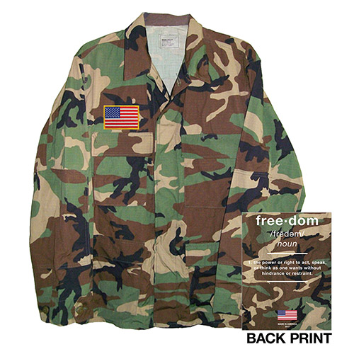 Made in America Freedom Camo Jacket