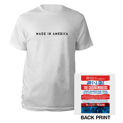 Made In America Event Tee