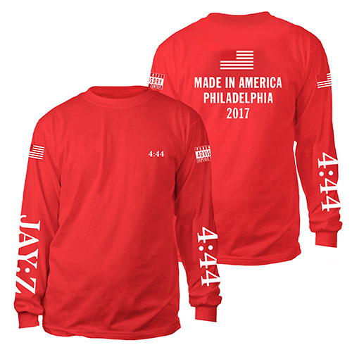 Made In America Jay-Z Long Sleeve Tee