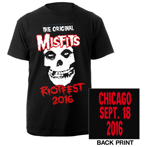 Misfits Riotfest 2016 Chicago Tee