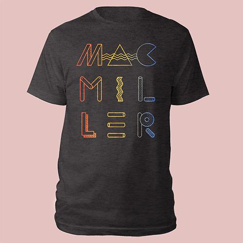 Mac Miller Geometric Tee