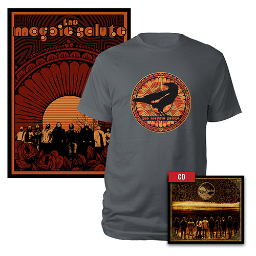 CD, Poster, and Tee Bundle