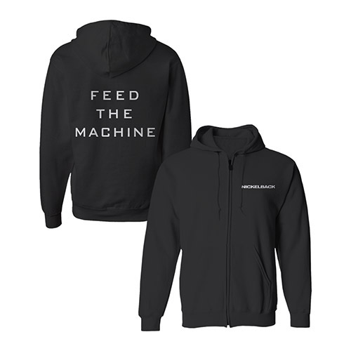 Nickelback Feed the Machine Hoodie