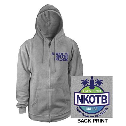NKOTB Get Lost Cruise Hoody