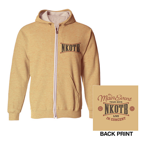 NKOTB Ladies Zip Hoody