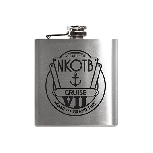 NKOTB Cruise Logo Flask
