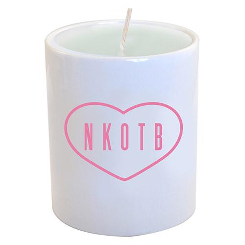 NKOTB Logo Candle