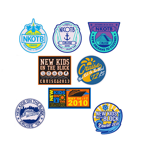 NKOTB Cruise Patch Set
