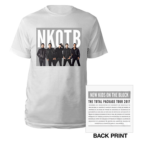 NKOTB photo tour tee