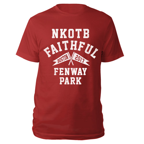 NKOTB Faithful Fenway Park Tee
