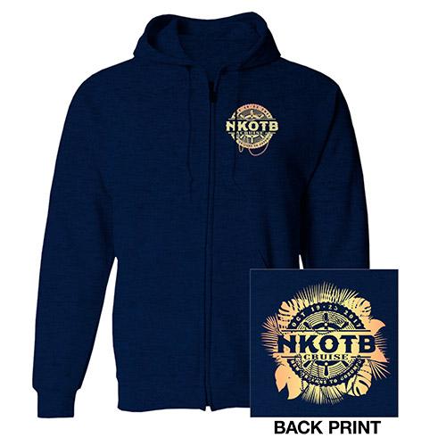 NKOTB Cruise 2017 Zip Hoodie