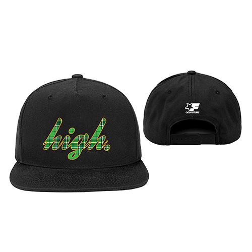 HIGH PLAID SNAPBACK HAT