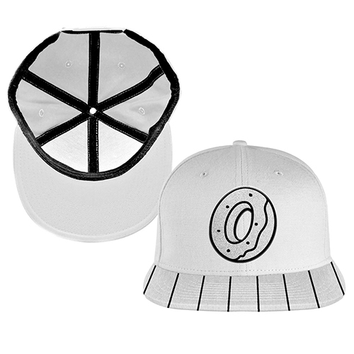 OF LOGO SNAPBACK HAT - WHITE