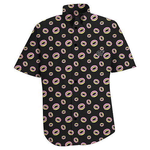 ALLOVER DONUT BUTTON DOWN SHIRT