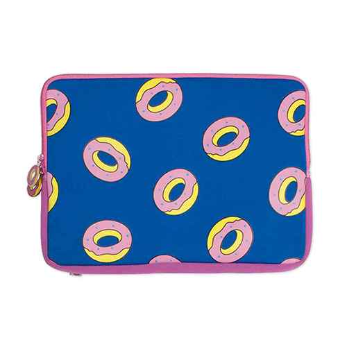 "ALL-OVER DONUT 13"" LAPTOP SLEEVE"