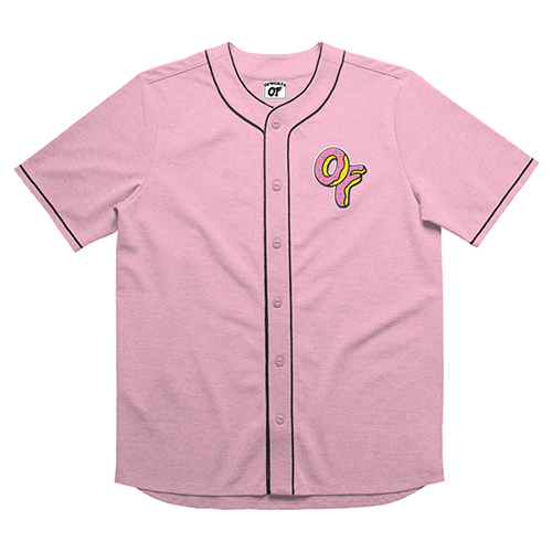 OF LOGO BASEBALL JERSEY