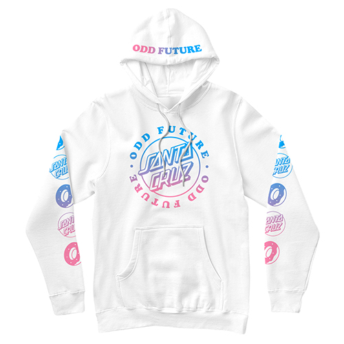 SANTA CRUZ/SCREAMING OF LOGO HOODIE