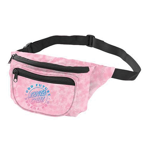 OF X SANTA CRUZ LOGO FANNYPACK