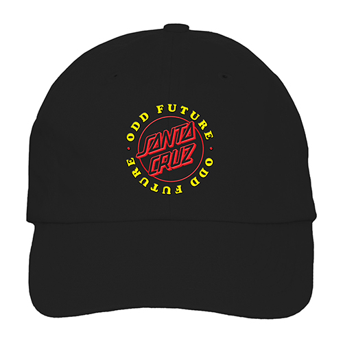 OF x SC BLACK DAD HAT