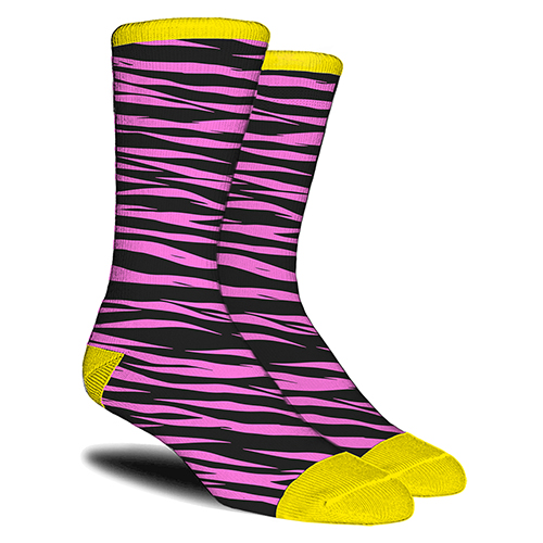 ZEBRA PRINT OF SOCKS