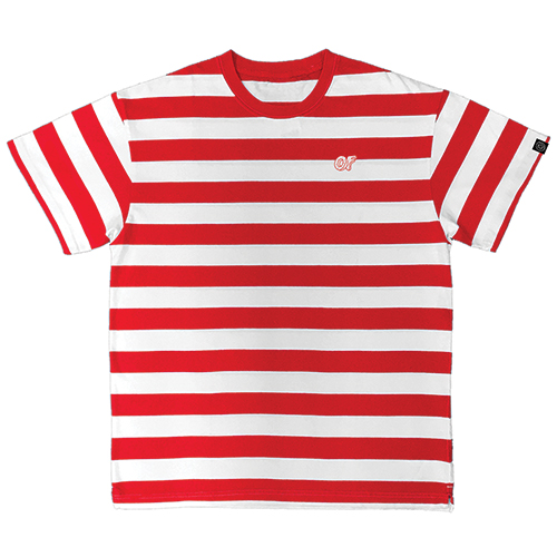 OF LOGO STRIPED TEE
