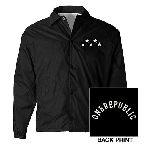 OneRepublic Black Windbreaker