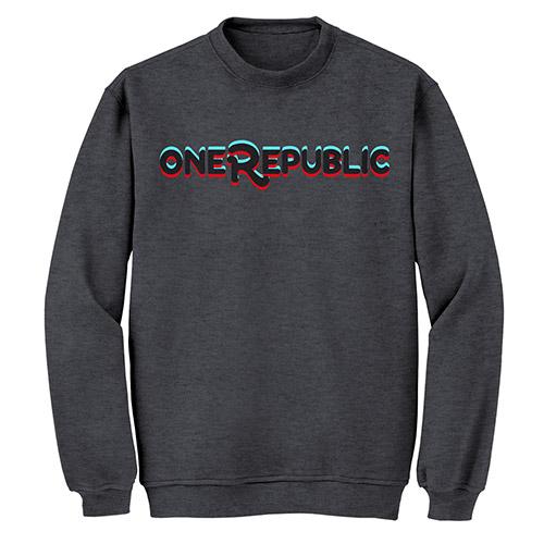 OneRepublic Unisex Crew Neck Sweatshirt