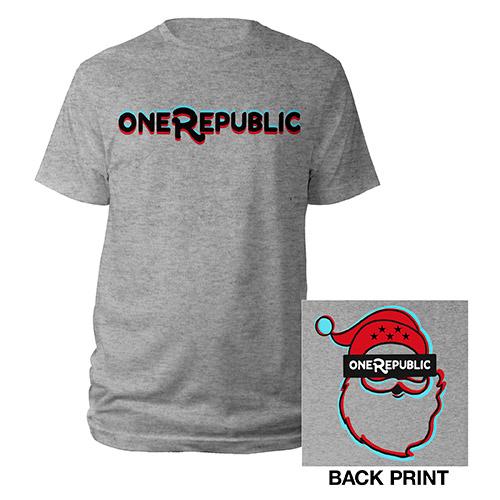 OneRepublic Santa T-Shirt