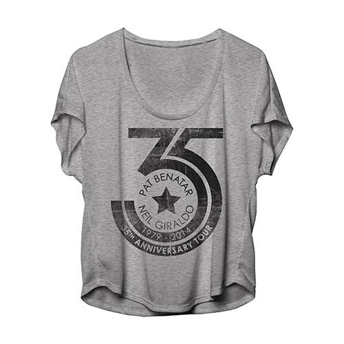 Pat Benatar & Neil Giraldo 35th Anniversary Women's shirt