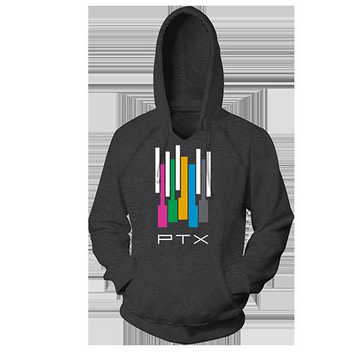 Color Keys Pullover Hoodie