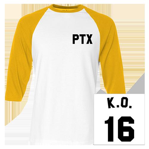 K.O. Baseball Jersey Tee