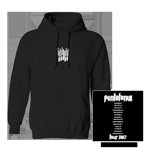 Keys Tour 2017 Pullover Hoodie