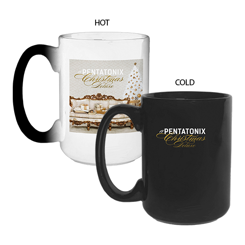 Pentatonix Christmas Deluxe.Pentatonix Official Store A Pentatonix Christmas Deluxe Heat Reveal Mug