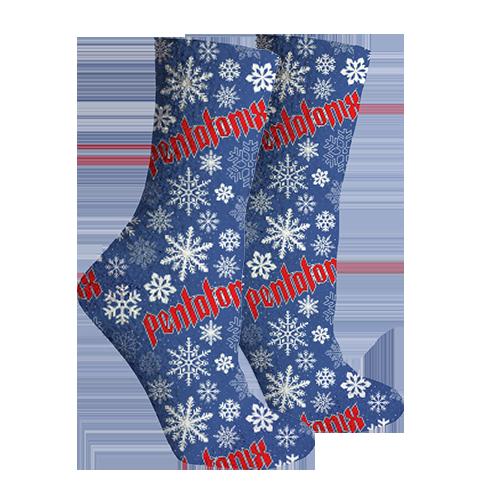 Snowflake Logo Socks