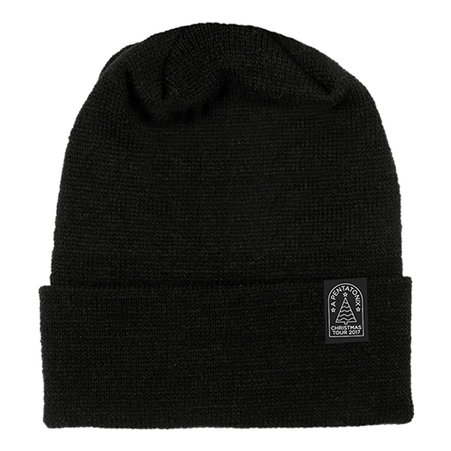Christmas Tour Black Beanie