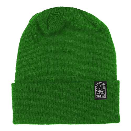 Christmas Tour Green Beanie