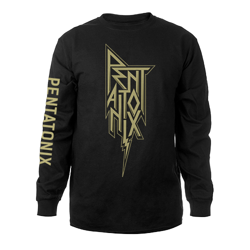 Stacked Metal Logo Long Sleeve Tee