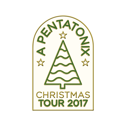 Christmas Tour Enamel Pin