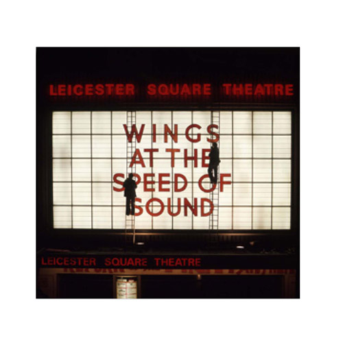 Wings at the Speed of Sound Marquee, London Lithograph
