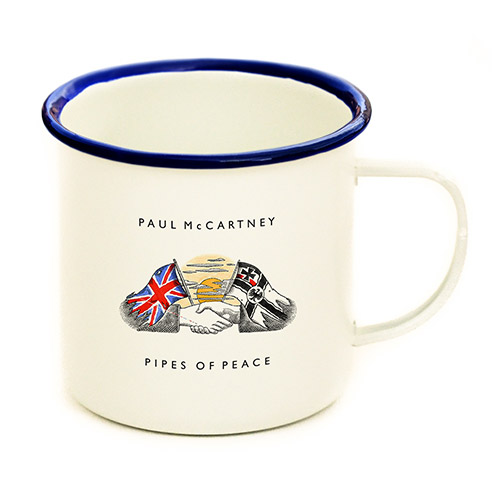 Pipes of Peace Enamel Mug