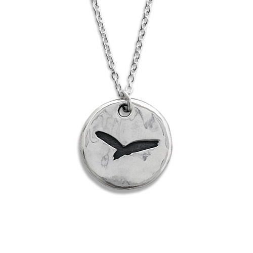 Pennyroyal Blackbird Silver Necklace