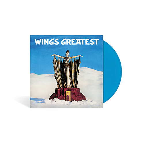 Wings Greatest - Limited Edition Blue LP