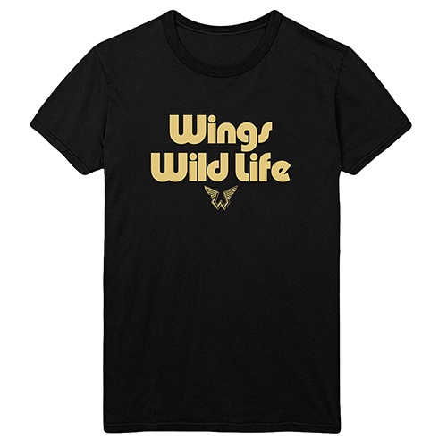 Wings Wild Life Black T-shirt