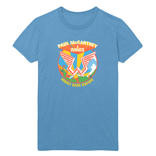 Wings Over Europe Blue T-shirt